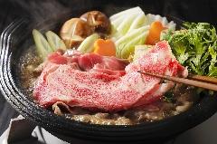 ★国産牛すき焼き鍋プラン